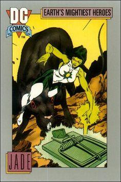 Impel - DC Comics Universe Trading Cards [1991]