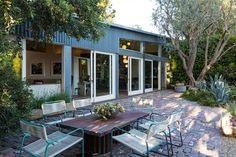 The Outdoor Hang Out--Though the 2-story corrugated metal structure is a landmark in its own right, the indoor-outdoor lifestyle offered by Dempsey's digs may be its biggest draw. (That, and all the good McDreamy vibes hanging around.)