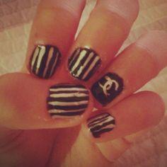 Chanel Nail Art!!