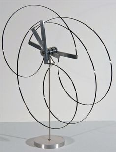 Pedro S. De Movellan - Mobius Version #3 | From a unique collection of sculptures at http://www.1stdibs.com/art/sculptures/
