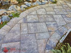 Belgard Lafitt Rustic Slab Pavers allow you to cultivate a superb natural slate look across your patio or driveway that will embellish the greatest aspects of all your pre-existing landscape features.