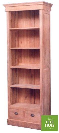 teakhouten boekenkast 10 leuke boekenkast kan op elke maat geleverd worden in de kleuren