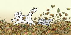 Simon's cat!!! Cats have such amazing character traits!