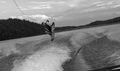 SailAway Lake House wakeboard jumo