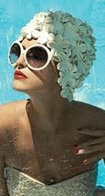 Old Hollywood Glamour / LA Pool Party act inspiration
