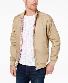 Ben Sherman Core Harrington Jacket - Tan/Beige XXL