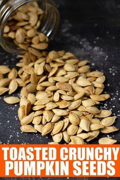 Easy Pumpkin Seeds, Perfect Pumpkin Seeds, Homemade Pumpkin Seeds, Toasted Pumpkin Seeds, Pumkin Seeds Baked, Baking Pumpkin Seeds, Pumpkin Seed Recipes Baked, Best Pumpkin Seed Recipe, Baked Pumpkin
