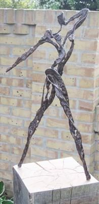 Struttin on a Sunday by Penny Hardy, Sculpture