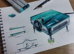 Product Sketch — Nice rendering