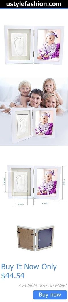 Handprint Kits: Clay Baby Handprint And Footprint Desktop Picture Frame, Newborn Baby First BUY IT NOW ONLY: $44.54 #ustylefashionHandprintKits OR #ustylefashion