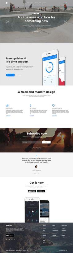 free flat ui kit html5