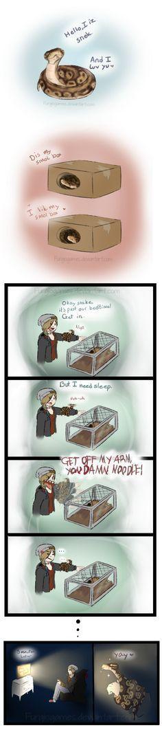 Snek comic by FurgioGames.deviantart.com on @DeviantArt