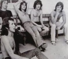 AC/DC backstage ~1976