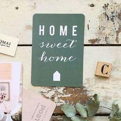 Image of Carte postale - Home sweet home