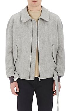 FEAR OF GOD Felt Bomber Jacket - Bombers - Barneys.com