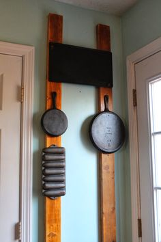 Upcycled Downriver: More Cast Iron Kitchen Storage!
