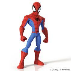 Spider-Man for Disney Infinity 2.0, Shane Olson on ArtStation at https://www.artstation.com/artwork/spider-man-for-disney-infinity-2-0