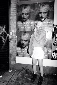 Sky Ferreira by Terry Richardson. For everything fashion and lifestyle head to stylethemonkey.com