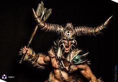 Barbarian Cosplay - Diablo III by emilyrosa on DeviantArt Diablo Cosplay, Barbarian Costume, Deviantart, Geek, Poses, Figure Poses, Geeks