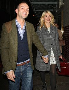congratulations to Holly. xx - Holly Willoughby is pregnant with her third child