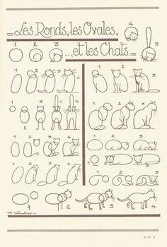 Como dibujar gatos