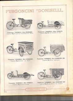 Vintage Doniselli Bike Catalog