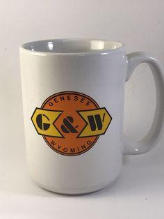 "Genesee and Wyoming ""G & W"" Railroad M Ware Mug    eBay"