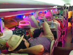 Sleeper Bus Travel - Vietnam