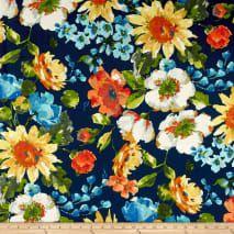 Swavelle Indoor/Outdoor Alfina Caspian from @fabricdotcom…