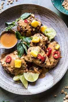 Grilled Thai Satay Chicken - if you love peanut sauce, you've just found your new favorite summer grilled chicken! @ halfbakedharvest.com