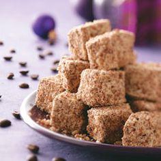 Coffee-Pecan Marshmallows Recipe (imagine these in a mug of pumpkin spice hot chocolate... yum!)