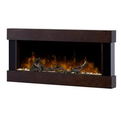 Dimplex Chalet Wall Mounted Electric Fireplace