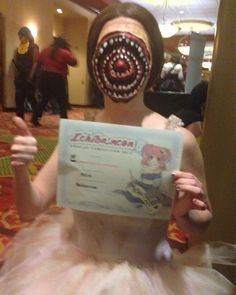 DontTouchMyMilk Cosplay winning for her Sugarplum Fairy from Cabin in the Woods! Great job!