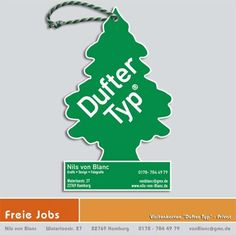 dufter typ creative business card design