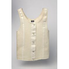 Liberty bodice. Thick cotton, wore one in the early 1960's