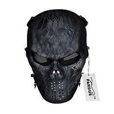 2019 New Style Outdoor Hunting Masks Ghost Tactical Military Cs Wargame Typhoon Camouflage Paintball Airsoft Skull Full Face Mask Accessories Regular Tea Drinking Improves Your Health Back To Search Resultshome
