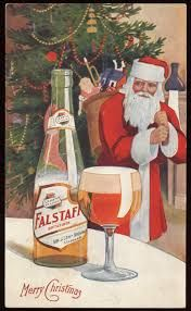 falstaff beer and santa claus