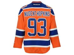 Edmonton Oilers Ryan Nugent-Hopkins Reebok NHL CN PT Premier Player Jersey 3419fa3a5