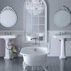 White bathroom