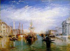 Venecia. Turner. Romanticismo. S. XIX.