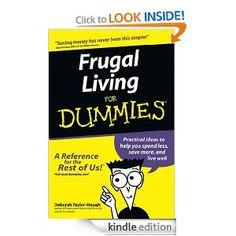 Frugal Living For Dummies eBook: Deborah Taylor-Hough