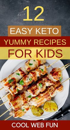 12 Easy Keto Recipes for Kids for the Keto Diet Low carb dairy-free keto kids recipes. Kids are generally picky eaters. So make keto recipes which are colorful and easy to gulp down. Kids will love these keto recipes for breakfast, lunch or a keto dinner. Healthy Recipe Videos, Easy Healthy Recipes, Low Carb Recipes, Diet Recipes, Health Recipes, Dairy Free Keto Recipes, Beans Recipes, Protein Recipes, Seafood Recipes