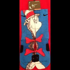 Dr. Seuss Parody Custom Nike Elite Socks Custom Nike Elite Socks — Luxury Elites