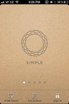 Simple Finance. Super awesome alternative to traditional banking. www.simple.com