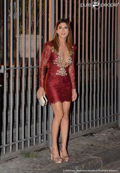 Fernanda Paes Leme - Patricia Bonaldi dress