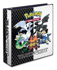 Pokemon 3-Ring School Binder BLACK & WHITE Series « Holiday Adds
