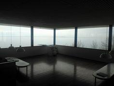 Louisiana Museum, Humlebæk, Denmark - the corner room view