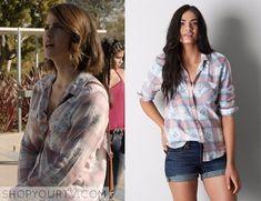 Teen Wolf: Season 5 episode 2 Malia's western plaid shirt