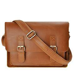 ZLYC+Men+Vintage+Handmade+Leather+Messenger+Bag+Shoulder+Briefcase+Fit+14+Inch+Laptop