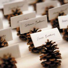 Leuke naamkaartjeshouders voor het kerstdiner